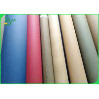 Buy cheap Biodegradable Sewable Washable Kraft Paper Fabric 0.55mm thick 150cm width from wholesalers