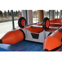 China Size Customized Inflatable Boat Wheels , Aluminum Inflatable Dinghy Wheels For Towing on sale