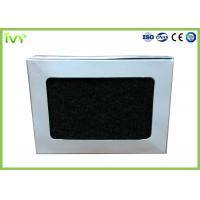 Cheap Cardboard Frame Activated Carbon Air Filter Moistureproof 3200 M³/H Rated Air Flow for sale