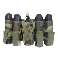 Cheap Durable Paintball Tactical Gear 4+1 Harness Pack For Camping Game Using for sale
