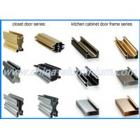 Buy cheap Kitchen Cabinet Aluminum Window And Door Frame Profile Colorful 6m Length from wholesalers