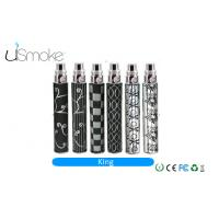 Cheap SS 510 Atomizer Flavor Electronic Cigarette 1100mah EGO King battery For Gift for sale