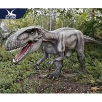 Theme Park Robotic Life Size Realistic Dinosaur Models With 12 Months Warranty for sale