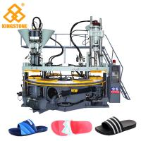 Cheap Rotary Three Color PVC straps Making Machine For slippers for sale