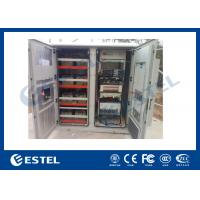 Reasonable Layout Assembled Base Station Cabinet Outdoor Rack Enclosure With Battery Compartment