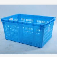 Cheap HDPE Plastic  Square plastic  crate  , Plastic Shopping Basket for sale