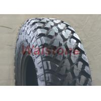 Quality Black Color Mud Terrain Tyres Vs All Terrain Tires For 4- Wheel SUV & Jeep wholesale