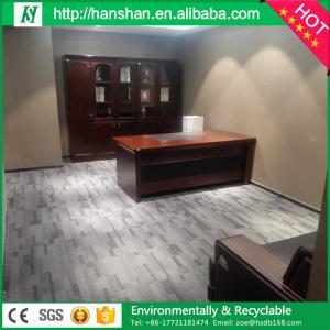 Wood Grain Healthy No Formaldehyde Eco Friendly Plastic Vinyl Plank Flooring