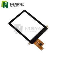 "Cheap Factory wholesale best quality 3.5"" capacitive touchscreen Customized with square shape and black printing for sale"