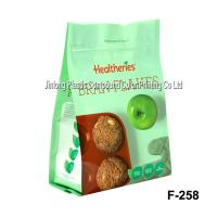 Buy cheap Stand Up Printed Zipper Food Packaging Plastic Bags, Biscuit Packaging Bag from wholesalers