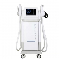 Cheap Burning Fat And Shaping Muscle 2300w Ems Body Slimming Machine for sale