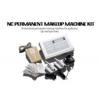 China Stainless Steel Permanent Makeup Tattoo Machine Kit With Cartridge Needle on sale