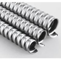"Cheap 1/2"" Metal Flexible Electrical Conduit Pipe For High Speed Rail Subway Equipment for sale"