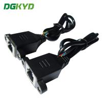 Buy cheap OEM / ODM 8p8c Shield Ethernet Patch Cable Panel Mount Rj45 Socket Patch Cable from wholesalers
