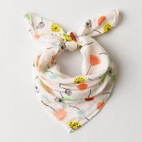 China Comfortable Muslin Baby Bibs Premium Cotton Material Customized Printing Design on sale