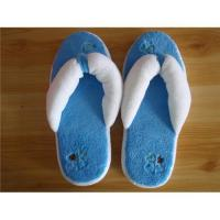 China indoor flip flop girl slipper with thick sponge sole