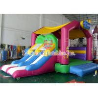 Cheap Candy House Kids Jumping Castle With Commercial 0.55mm PVC Tarpaulin for sale