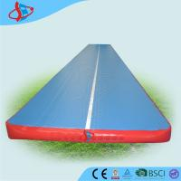 Cheap Customized inflatable trampoline tumble track for gymnasium OEM / ODM for sale