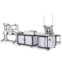 Cheap Non Woven Earloop Mask Producing Machine 220V 120-150 PCS / Qualification Rate Min 98-99% for sale