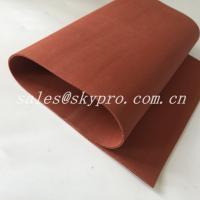 Cheap Red / Transparent Soft Flexible Silicone Rubber Foam Sheet Thickness 0.1-30mm for sale