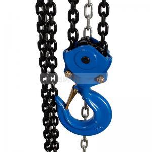 Cheap Professional 1.5 Ton Manual Chain Block , Small Hand Chain Hoist hand chain block for sale