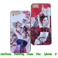 Quality Painted Hard Back Case Women On Cover For Apple Iphone 5 5G 5th -Paypal Accepted wholesale