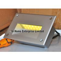 Cheap 3W Yellow Recessed LED Wall Lights Aluminum Modern Indoor Wall Light SMD3020 for sale
