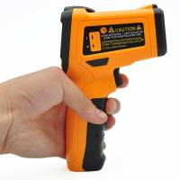 Cheap Custom Handheld Infrared Thermometer K - Type Temperature Probe Super Quick Response for sale