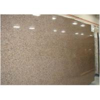 Cheap Custom Tropical Brown Granite Floor And Wall Tiles CE Certification for sale