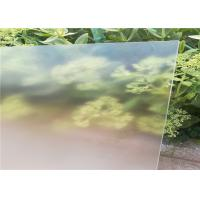 Cheap Ultra White Patterned Tempered Glass , Solar Photovoltaic Glass Low Iron Content for sale