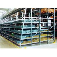 Cheap Industrial Pallet Live Racking / Gravity Flow Rack With Cold Rolled Steel Material for sale