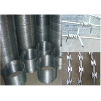 Cheap Galvanized Two Strands SWG16 1.5cm 4 Point Barbed Wires for sale