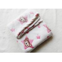 China Eco - Friendly Lightweight Baby Soft Blankets Anti - Pilling For Travel on sale