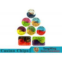 Quality Security Promotional Casino Poker Chips With Smooth And Delicate Texture wholesale