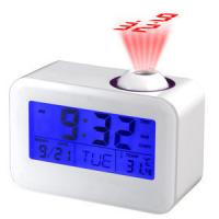 China touch sensor alarm projection clock with LED /temperature,calender,timer on sale