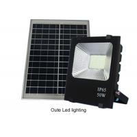 Cheap 50W Solar Powered Led Flood Lights Outdoor / Solar Powered Motion Lights 13 Hours for sale
