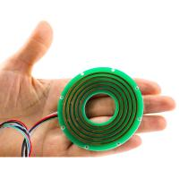 Buy cheap 46mm Through Bore Pancake Slip Ring Cable Reel 5A With 2 Circuits from wholesalers