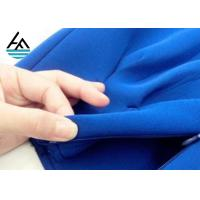 SBR Colored  Neoprene Fabric Sheets Ployester Textured Rubber Sheet