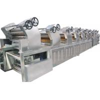 Buy cheap Stainless Steel Fried Instant Noodles Manufacturing Machine For Wheat Flour from wholesalers