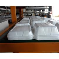 Cheap Styrofoam PS Foam Food Container Thermoforming Machine 1000 / 1250mm for sale