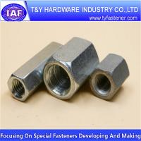 China Coupling Nuts Hex nut flange nut on sale