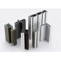 Cheap Modular T Slotted Aluminum Extrusion Profiles / Aluminum Door And Window Frames for sale