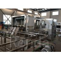 Quality 1200 BPH Automatic Water Filling Production Line For 5 Gallon Barrel Filling Machinery wholesale
