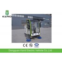 China Smart Electric Patrol Car / Full Closed 48V DC Motor Street Electrical Sweeper Vehicle on sale