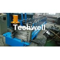 0-15m/min Forming Speed , High Efficiency C Section Roll Forming Machine With Hydraulic Cutting Type Manufactures