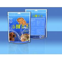 Cheap PET / CPP Side - Seal Stand Up Zipper Sea Food Snack Bag Packaging for sale