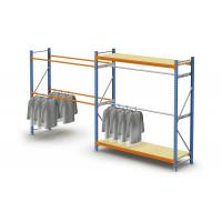 Steel Adjustable Light Duty Storage Rack / Commercial Pallet Racking For Clothes