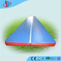 Cheap Big School Inflatable Gymnastics Air Mat For Boat Toys 15 Meters for sale