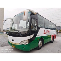 Cheap Used Yutong Bus ZK6808 35 Seats Yuchai Engine 147kw Passenger Bus for Afica Low Kilometer for sale