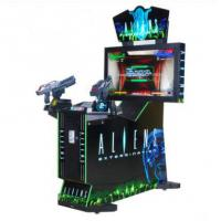 Cheap Coin operated electronic Arcade Aliens Extermination shooting game machines indoor 42LCD simulator gun shootin for sale